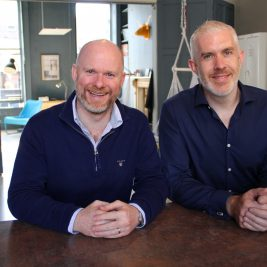 John Tyrrell and Emmet Savage, Rubicoin co-founders